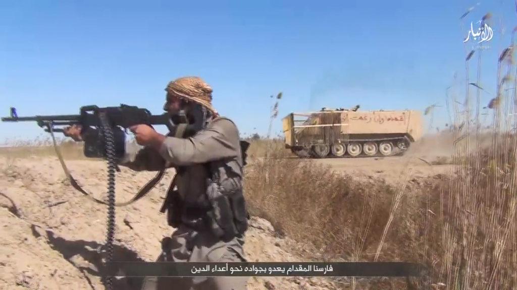 M113A2. September 14, 2015. Anbar province.