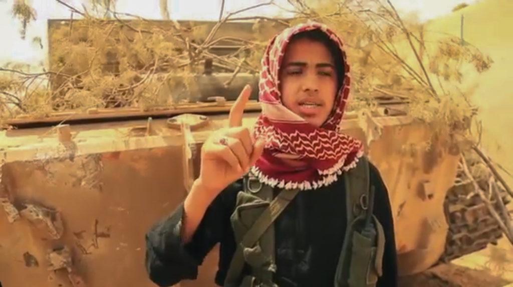 T-55. September 20, 2015. Deir ez-Zor province.