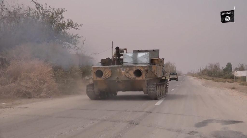 BTR-50. November 4, 2015. Deir ez-Zor.