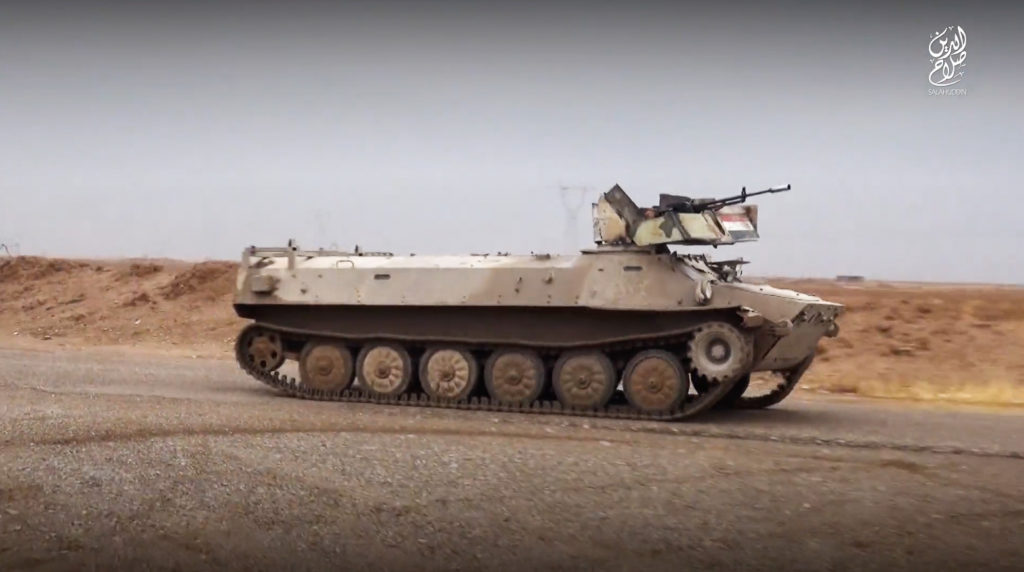 BMP-1. November 23, 2015. Salahuddin province.