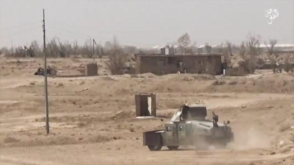 December 3, 2015. Fallujah province.