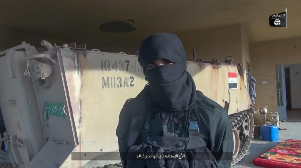 M113A2. January 2, 2016. Anbar province.