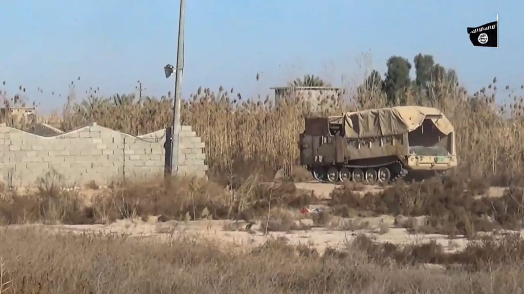 M548. January 2, 2016. Anbar province.