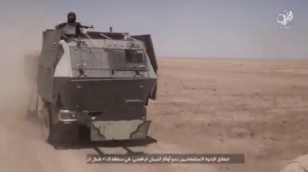 Truck. September 11, 2016. Furat province.