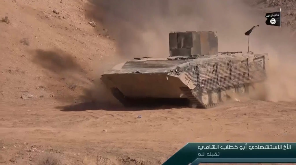 BMP-1. October 12, 2016. Deir ez-Zor.