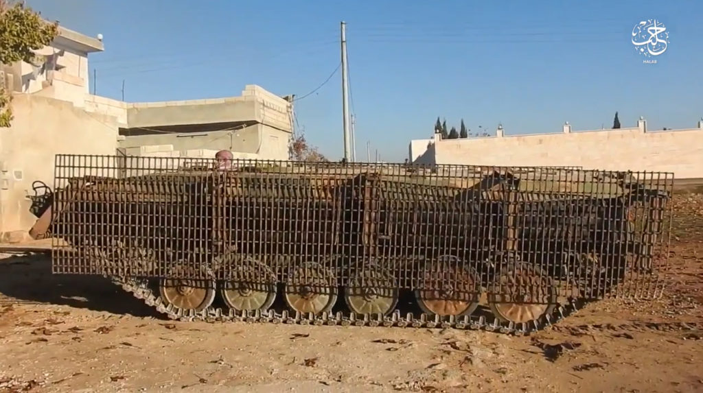 BMP-1. December 23, 2016. Aleppo.